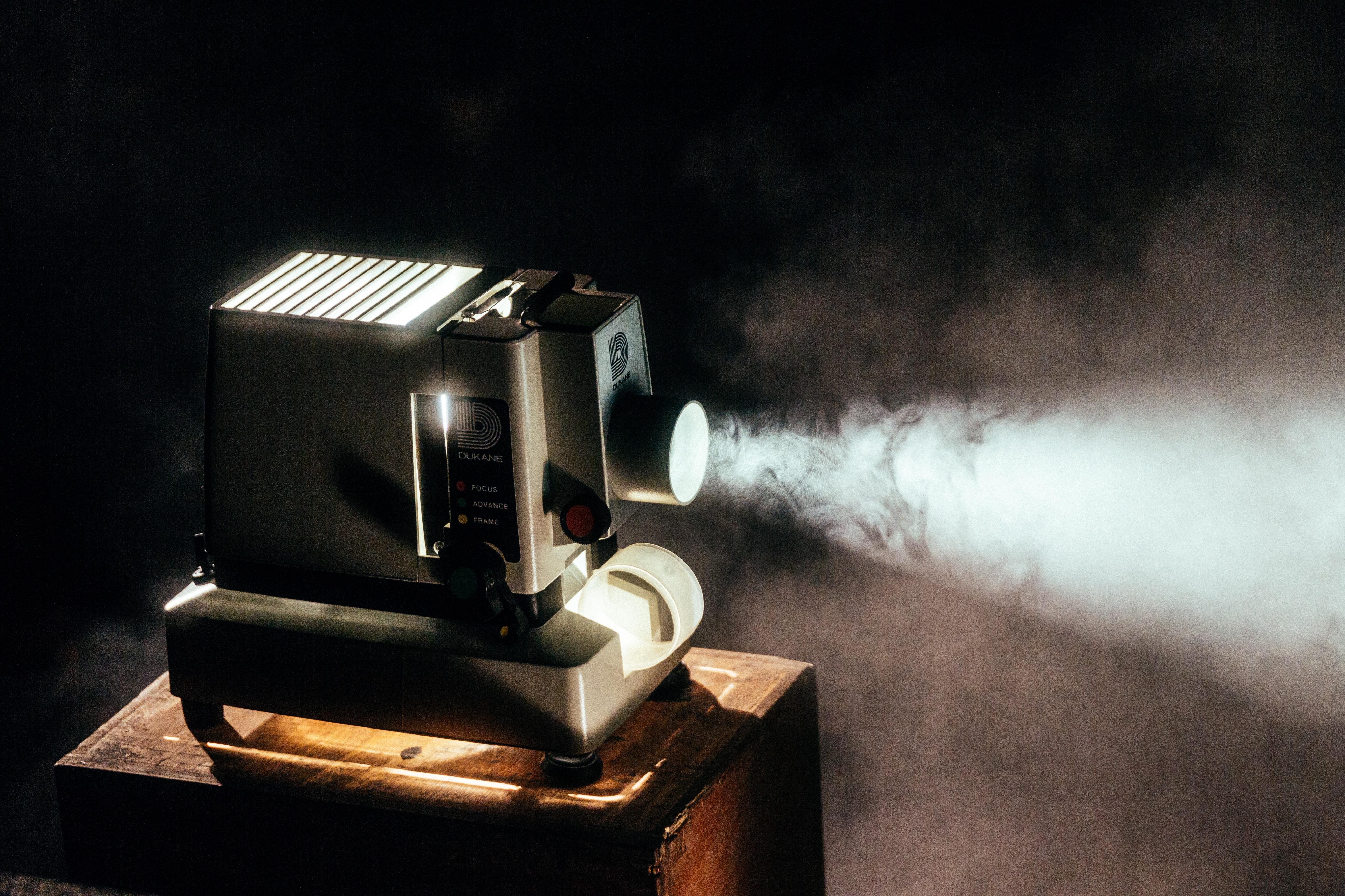 fototapeta projektor retro